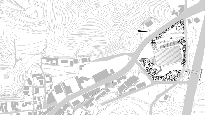 Huso_at_project_Dalseoung_citizens_Gynasium_siteplan